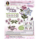 Michelles Designs - A Garden for Bella Embroidery Designs (#3739D)