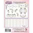 Michelles Designs - Enchanting Florals Monogram Embroidery Collection (3743d)