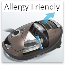 Miele Allergy Asthma Vacuums