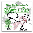 Momo-Dini Embroidery Designs - Momos Cat (0700150)