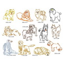 Momo-Dini Embroidery Designs - Dinis Dogs 2 (0900159)