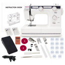 Photo of Necchi HD22 Heavy Duty Sewing Machine With a Free Accessories Bundle from Heirloom Sewing Supply