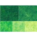 Stonehenge Gradations Brights Rainforest - 10 inch Squares 42 Pieces