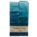 Stonehenge Gradations Brights Lagoon - 2.5 inch wide Strips 40 Pieces