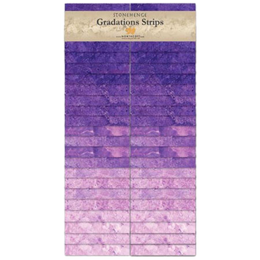 Stonehenge Gradation Bright Strips by Northcott Amethyst SSTONE40-54