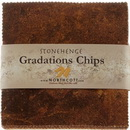 Stonehenge Gradations Brights Iron Ore - 10 inch Squares 42 Pieces