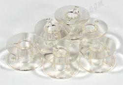 Clear Bobbins 102261103 (SA156) 10pk