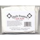Quilt Pounce Chalk One 4oz. WHITE Chalk Refill (chk8w)