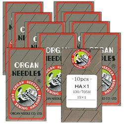 80//12 5-Pack Tacony Corporation Klasse Jeans//Denim Machine Needles