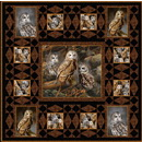 Barred Owl Fabric Quilt Kit by Pine Tree Country Quilts