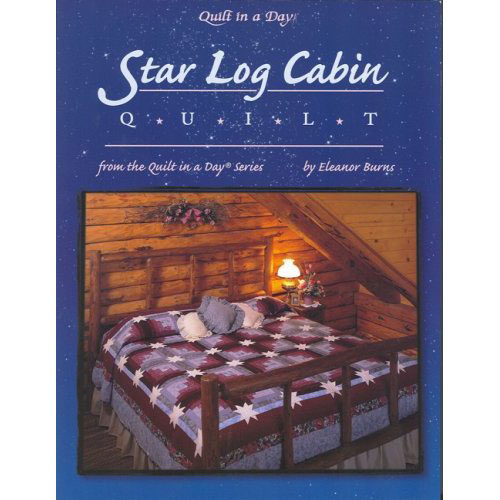 Quilt in a day star log cabin qd1032 for Log cabin financing