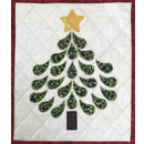 Quilter's Paradise Christmas Tree Wall Hanging Fabric Kit