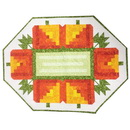Ready to Sew Log Cabin Pumpkins Quilt Kit