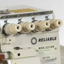 Reliable MSK-3316-GG7-40H Five Thread High Speed Safety Serger