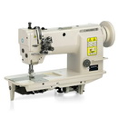 Photo of Reliable 3200TN Two Needle Needle Feed Machine w/ Motor Table & Light from Heirloom Sewing Supply