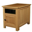 Riccar Summer Breeze Zone Heater & Space Heater with Dial Thermostat - Oak (RSBH-O)