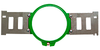"2 x Round Hoop 12 cm (4.7"")"