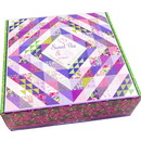 Sweet Pea and Lily Kit Fabric Quilt Kit by Robin Pickens
