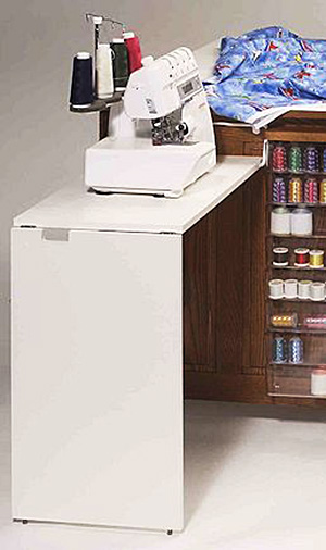 Fashion Sewing Cabinets 49 Add-on Serger Table