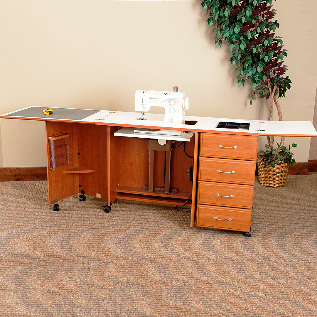 Sylvia Sewing Cabinets Sewing Cabinets Model 7600 Space Saver Sewing Cabinet