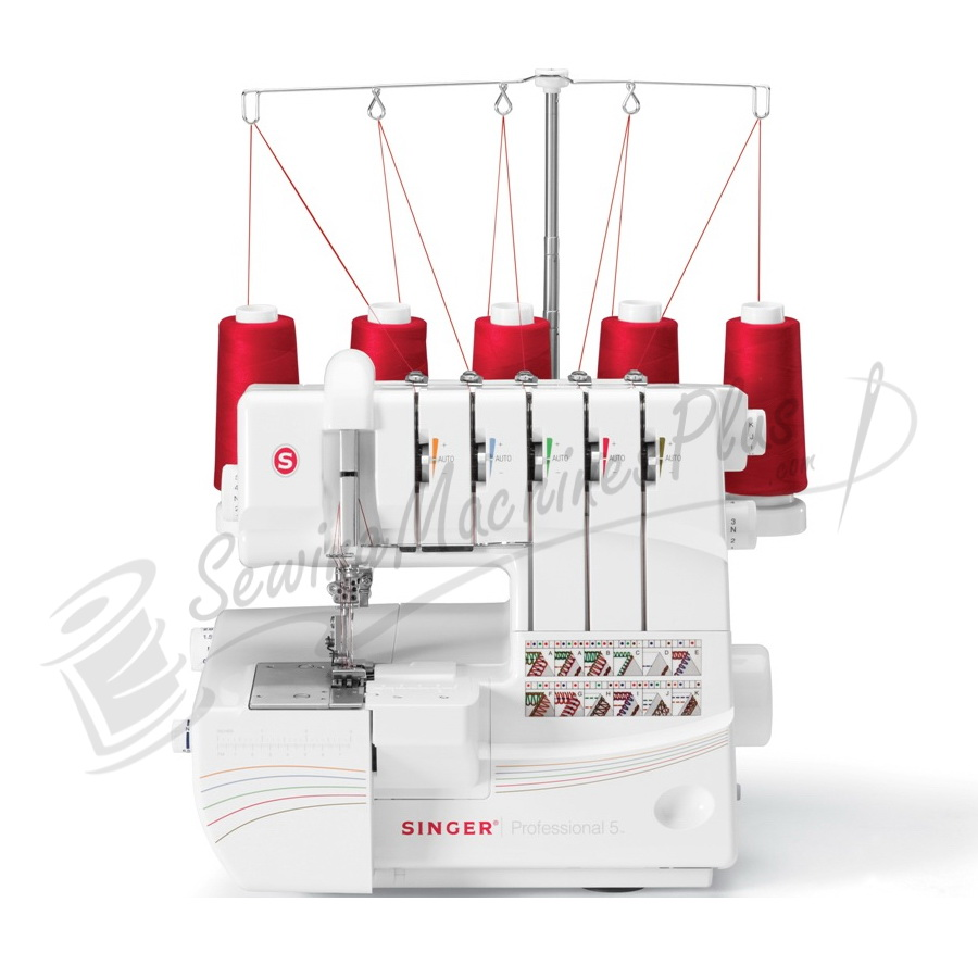 Singer 14t968dc Professional 5 Thread Serger W Cover Stitch Heater Wiring Diagram 7 Feet Workbook Cd