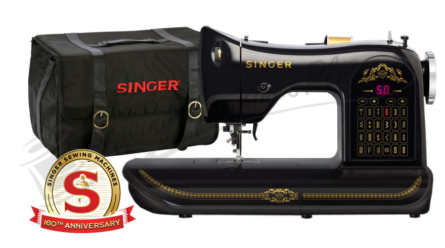 Singer 40 Limited Edition Anniversary Sewing Machine With Singer Extraordinary Husqvarna 610 Sewing Machine