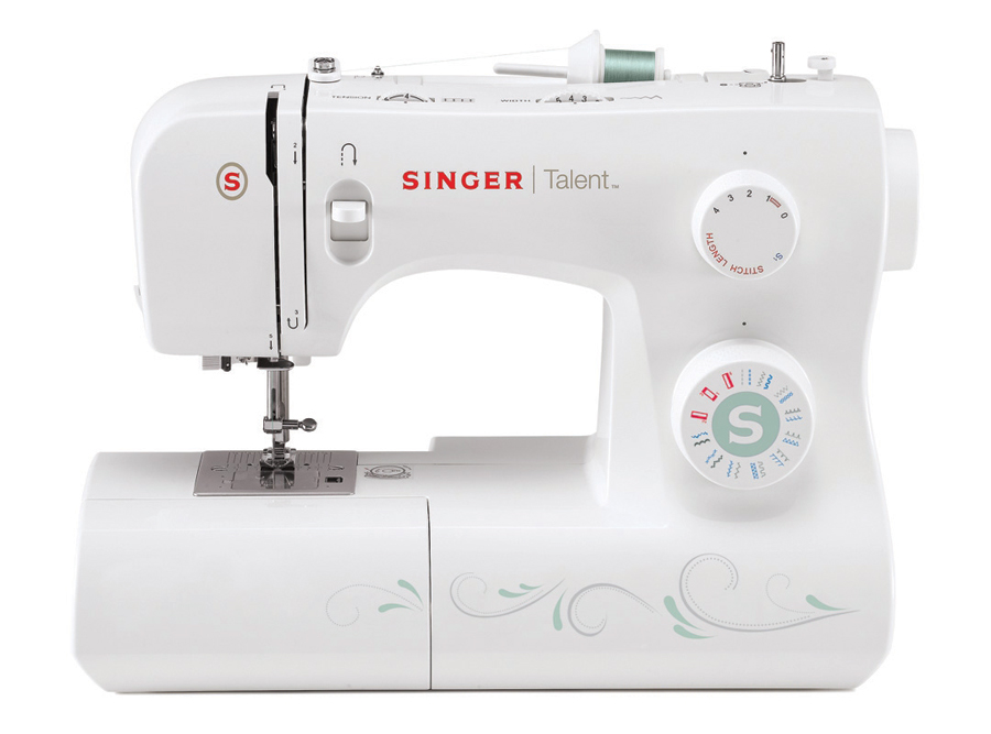 Singer 40 Talent Sewing Machine With 40 Stitch Patterns Custom Overlock Sewing Machine Singer