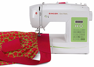 This sewing machine really packs a punch!