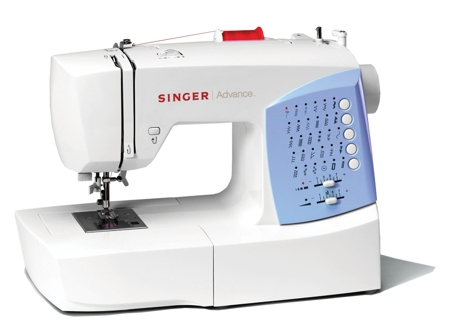 Singer 7422 FS - 30 Stitch Patterns, Drop-in Bobbin, Auto. Needle Threader