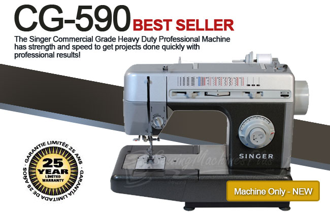 Singer CG40 Commercial Grade Sewing Machine Delectable Best Commercial Sewing Machine