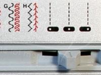 Needle Position Selector.