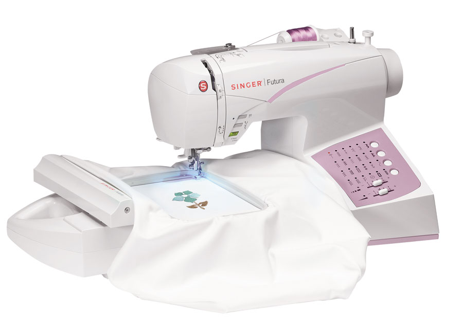 Singer SES40 FS Computerized AllInOne Sewing Embroidery And Custom Overlock Sewing Machine Singer
