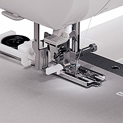13 Fully Automatic Built-In Buttonhole Styles with Exclusive Buttonhole Underplate