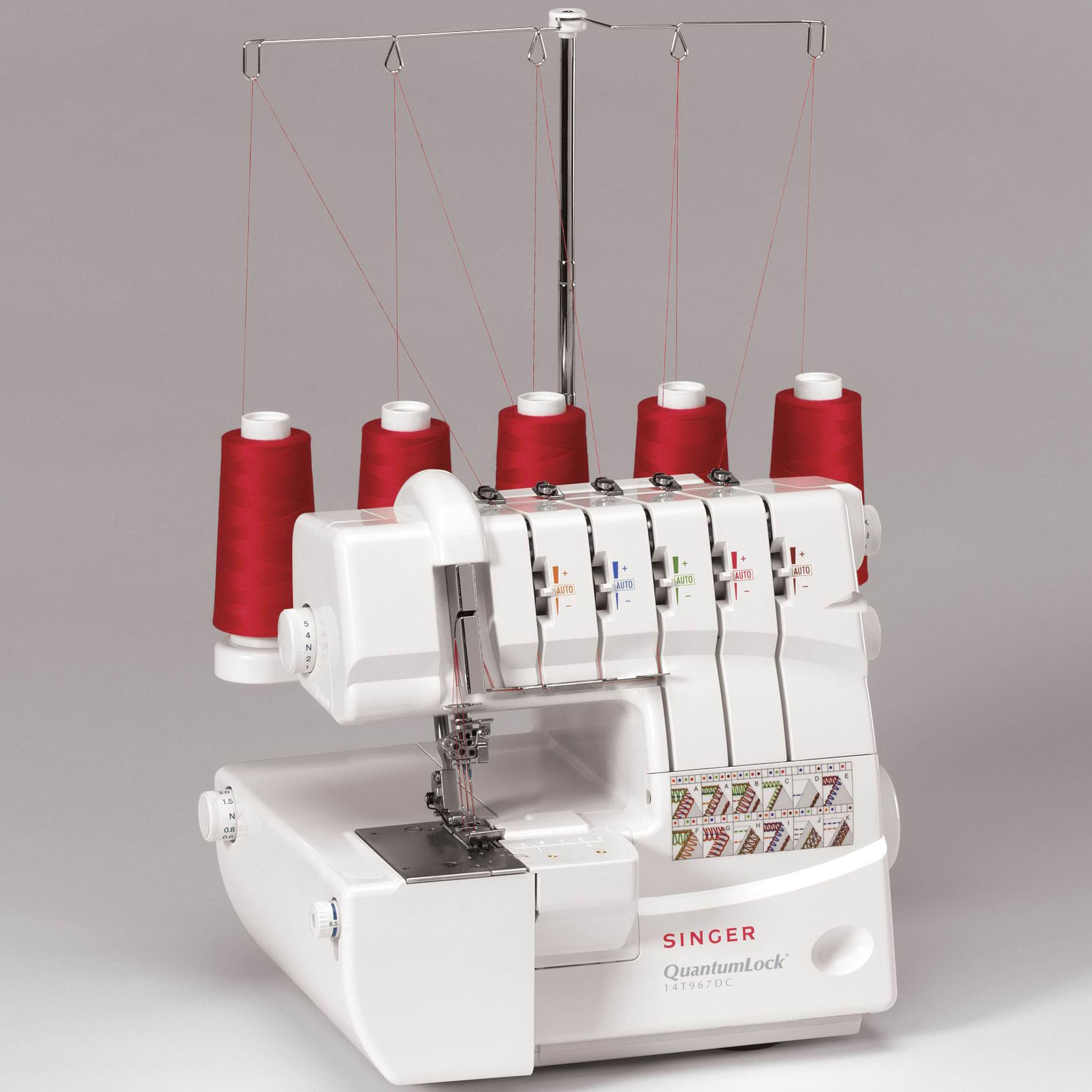 serger machine thread