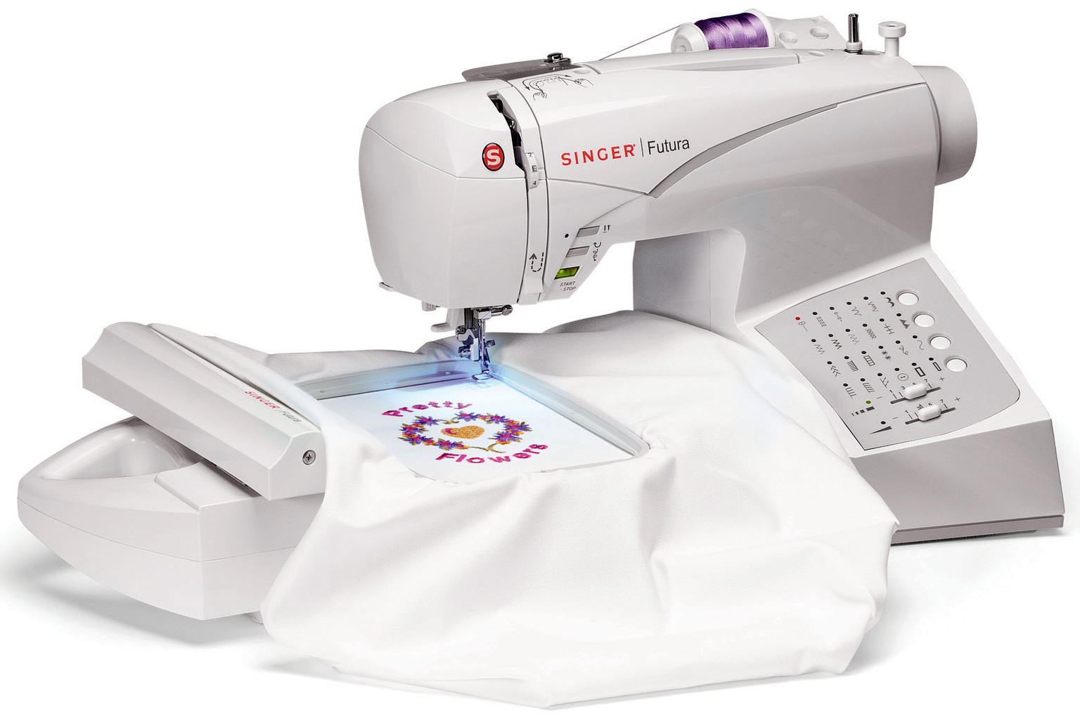 Singer futura ce embroidery sewing machine w free