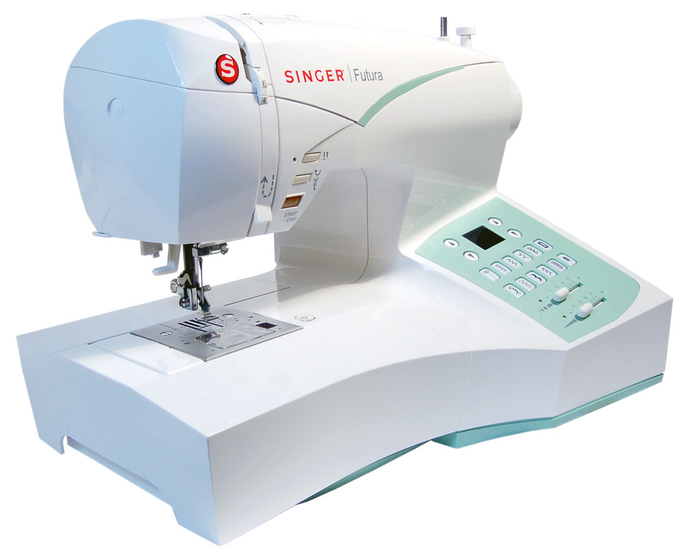 Singer Futura CE-250 Sewing And Embroidery Machine W/ Software Package
