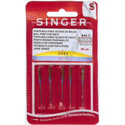 Singer Serger Ball Point Needles Size 10 /& 14