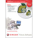 Photo of Singer Editing Embroidery Software for Futura CE-150 & CE-250 from Heirloom Sewing Supply