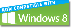 Now compatible with Windows 8