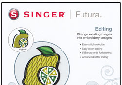 Singer Futura XL-400 Editing Software