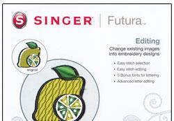 Singer Futura XL-400 Editing Software