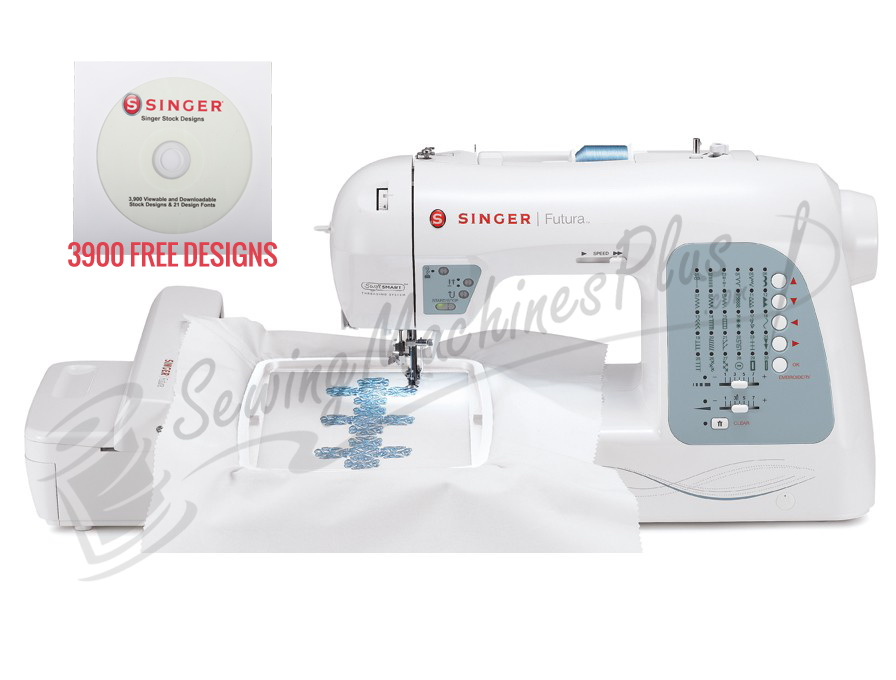 Singer XL-400 4-in-1 Sewing & Embroidery Machine