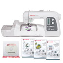 Photo of Singer FUTURA XL-550 Sewing Quilting and Embroidery Machine & 3900 Designs! from Heirloom Sewing Supply