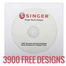 Singer XL-580 Futura I WANT IT ALL SPECIAL! Software, Thread, Stabilizer, 3900 FREE Designs, and More!