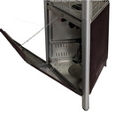 Sunheat Decorative Flame Triangle Golden Hammer Patio Heater PHTRGH-34