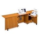 Sylvia Design Model 1050 Sewing & Serger Cabinet