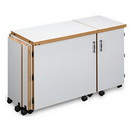 Sylvia Design Model 1050Q Quilters Sewing & Serger Cabinet