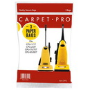 3-Pack Carpet Pro HEPA Media Vacuum Bags CPP-3