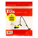 6-Pack Carpet Pro Vacuum Bags for Tiny Tank TTP-6