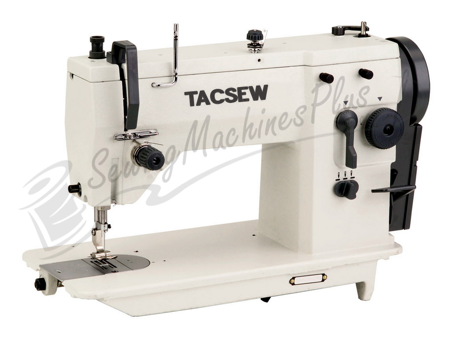 Tacsew T40U4040 Zig Zag Industrial Sewing Machine Packaged With High Gorgeous Industrial Zigzag Sewing Machine